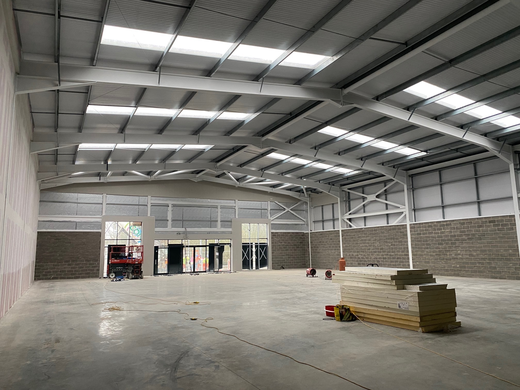Shell & Core Warehouse Installation